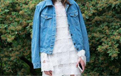 7 cách phối mới với áo khoác denim