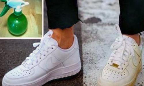 Bí quyết đơn giản làm giày luôn trắng tinh