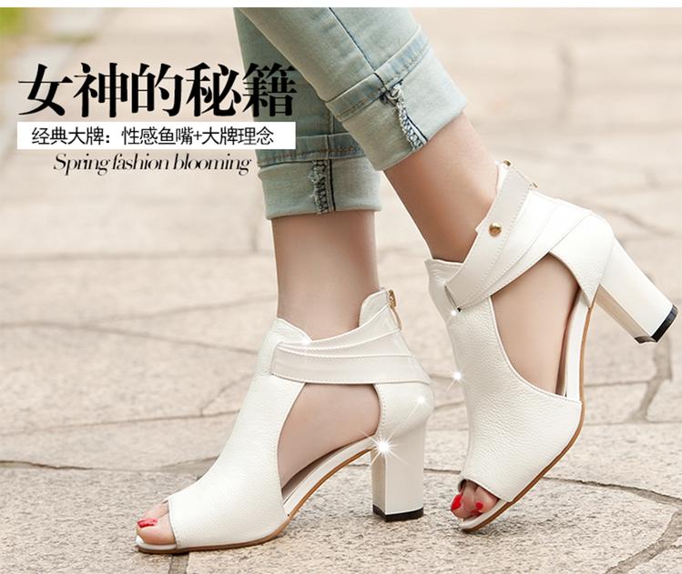 Giày xăng đan nữ XĐN012