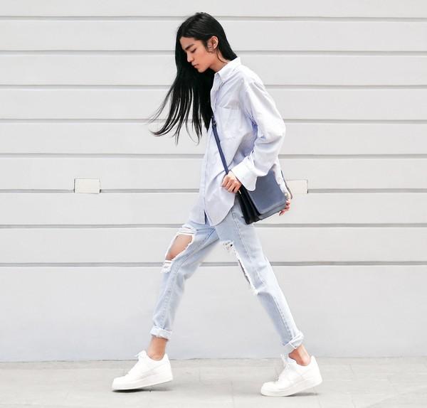 Mẹo tẩy trắng giày sneaker siêu nhanh