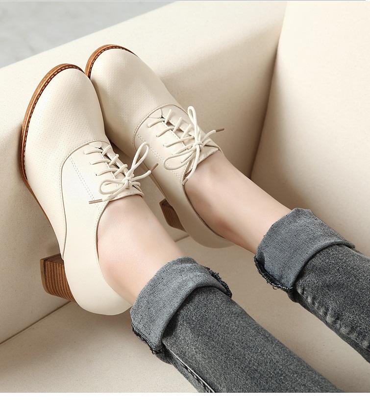 Giày Oxford nữ OXN02