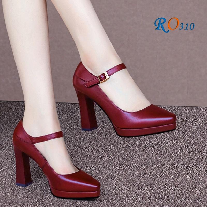 Giày Cao Gót Nữ Bít Mũi RO310
